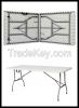 6ft folding table, Plastic Tables (ref:QiCai)