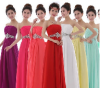 Party Dresses Chiffon Ankle-length 2014 New Girl Evening Dress