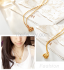 18k gold plated necklace with wonderufl price