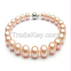 AA 9-10mm Pink Pearl Bracelet with Sterling Silver Clasp