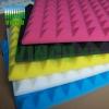 pyramid foam sheet, melamine acoustic foam