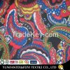 2015 most popular South Afican paisley soft feeling knitted polyester elastic pique fabrics