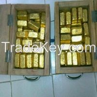 GOLD DORE BARS (97.8% PURITY)