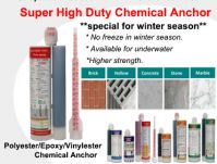 Super High Duty Chemical Anchor (for winter season)