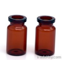 Sell 7ml amber vial brown bottle for injection