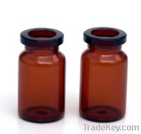Sell 10ml amber glass injection serum vials/bottles