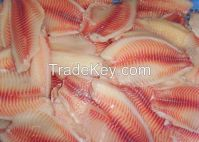 Frozen Tilapia Fish Fillet (Delicious and High Quality) for sale