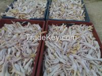 Halal Frozen Chicken Feet, Chicken Paws, Chicken Claws and Chicken Whole'' Grade A' from Brazil