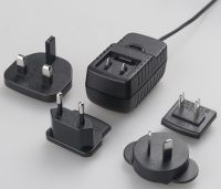 Sell 24W wall-mount type with interchangeable plugs, UL/FCC/CE/GS/SAA/TUV