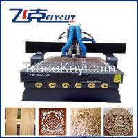CNC auto change spindle wood router