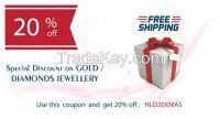 Discount on Gold / Diamond & Silver Jewellery