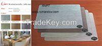 TD73-C Deluxe waterproof brushed metallic table mat, popular  worldwise