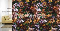 3D Painted static window screens, novel window film TM268-R028-B001