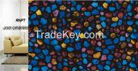 3D painted static window screens, deluxe window film TM87-R032-B001