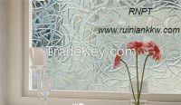 3D Laser static window screens, novel window film TMC-001
