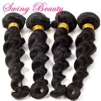 Raw Indian Natural Human Hair Weaving Extension Free Sample Available