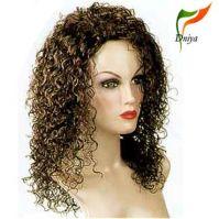 Sell wig,human hair wig,synthetic hair wig,party wig,half wig