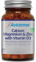 Supplement Sport Nutrition Avicenna Calcium Magnesium Zinc With Vitamin D3
