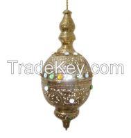 Brass Moroccan Pendant Light