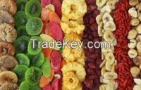 DEHYDRATED DRIED NATURAL FRUIT low Sugar
