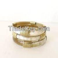 Bracelet Of Buffalo Bone