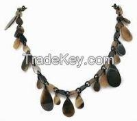 Fashio Necklace/Buffalo Horn Beaded Necklace/Fashion Jewelry/Latest Model Pendant Necklaces