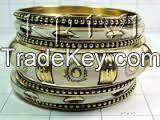 Bangles Bracelets/Stylish marine style bone metal beads artificial jewelry necklace