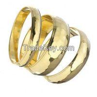 Brass fashion bangles/bangle bracelet/expandable bangle/Gold type brass bangles