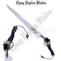 Functional Squall Gunblade Revolver Sword