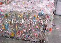 Europe Top Quality PET Bottle Scrap, PET Flake, HDPE Natural Bottles With Low Price