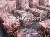Copper scrap, Aluminium Scrap , PET Bottles