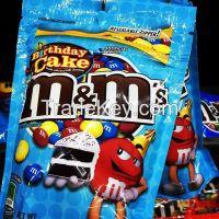 M&M's, Mars, Snickers, Twix, Bounty