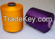 polyester dty yarn 150/48 for knitting & embroidery