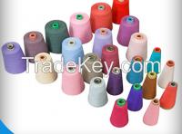 100% polyester spun yarn