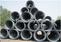 Hot rolled steel wire rod for export