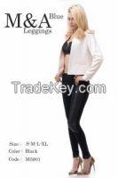 M&A Blue Leggings 5901