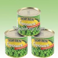 Canned Whole Green Peas
