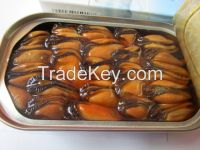 Quality Canned Smoked Mussels