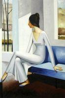 Sell 100% handmade oil paintings--modern decoration