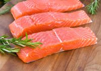 Hot sale New Season Frozen Salmon fish /fillet