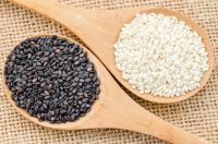 Bulk GMP Best Quality Raw white/black Sesame Seed