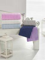 Bathrobes and different towels by abc tekstil