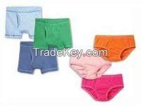 Cheap cotton children underwear undershirts shorts boxers and briefs