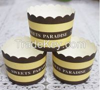 Baking muffin cup. cupcake liners