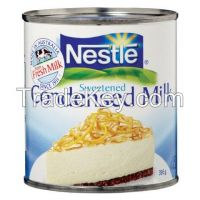 CONDENSED MILK, SWEETENED MILK, EVAPORATED MILK