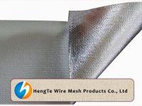 Aluminum Foil Fiberglass Cloth / Aluminum Foil Fiber Glass Mesh