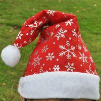 Wholesale Good Quality Plush Unique Christmas Santa Hat
