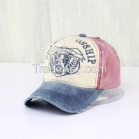 Hot Selling Fashion Vintage Baseball Cap With OEM Embroidery Logo