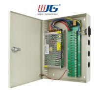 18 ways 240W centralized power supply box, 12V 20A/24V 10A  CCTV camera power supply box