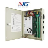 18 ways centralized power supply box, 12V 10A/24V 5A  CCTV camera power supply box